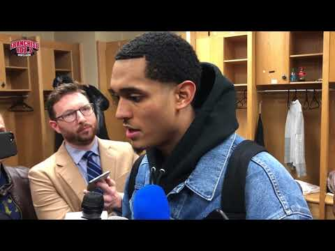 Thunder vs. Cavaliers Postgame Coverage: Cavs' Locker Room 2.13.18
