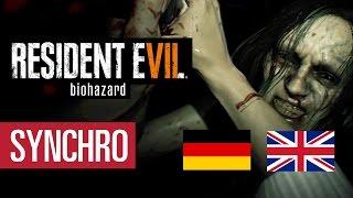 Resident Evil 7: Synchro-Vergleich Deutsch vs. Englisch