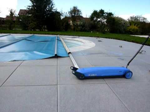 Walu doovi for Motorisation enrouleur bache piscine