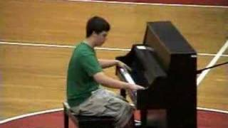 Ted Loveland Mario World Medley Piano LPHS Variety show 2007