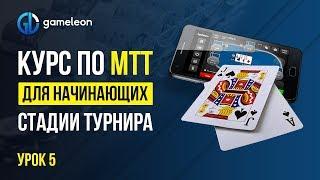 👉Турнирный покер обучение. Курс по МТТ покер. Урок №5: