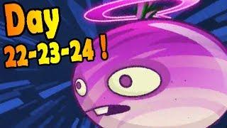 Plants vs. Zombies 2: Far Future Days 22-23-24!