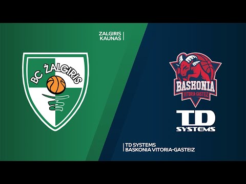 Zalgiris Kaunas - TD Systems Baskonia Vitoria-Gasteiz Highlights | EuroLeague, RS Round 14