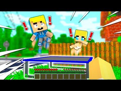 COMPRO un TRAMPOLINO ai MIEI FIGLI!! - Famiglia di Minecraft #29