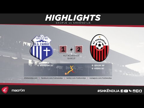LPFM 2017/18 | 7th Round | Highlights | Skopje vs  Shkëndija 1-2