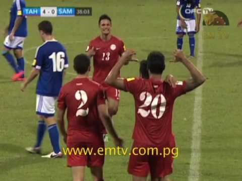 Tahiti Thrash Samoa in the Second Match of OFC Nations Cup Day 2