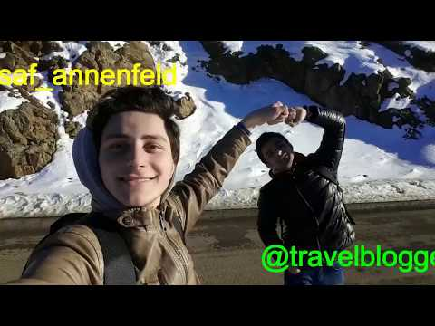 Travel vlog l adventure in Western Azerbaijan; Simens Brothers' Birdge