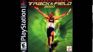 International Track & Field 2000 (Playstation version) - Menu