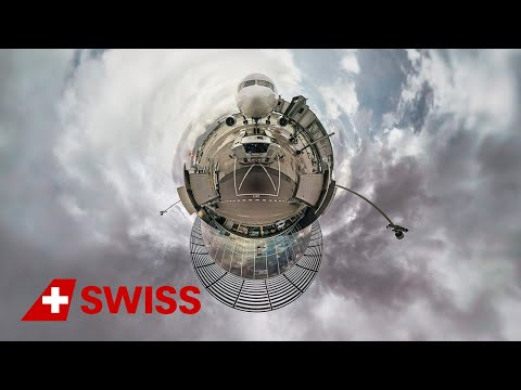 Hello. I'm SWISS's new Boeing 777 - in 360° | SWISS