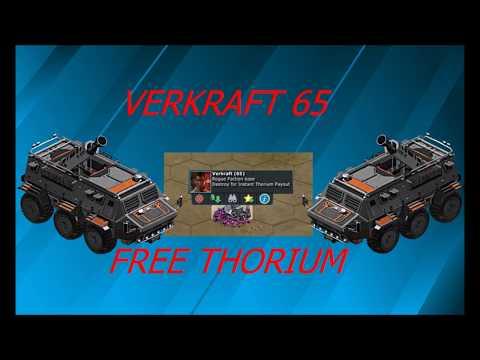 WAR COMMANDER: Verkraft 65 Free Thorium BEST WAY