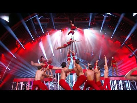 America's Got Talent S09E22 Season 9 Top 12 AcroArmy High Flying Acrobatic Troupe