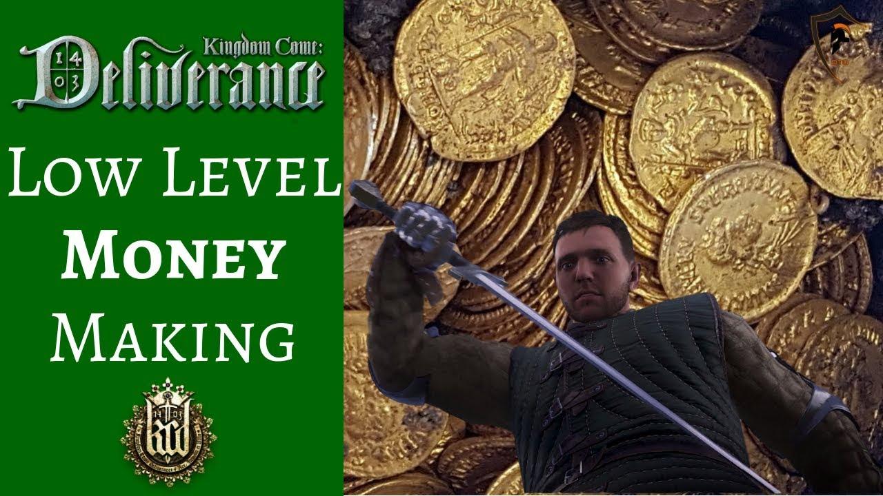 kingdom come how to make money