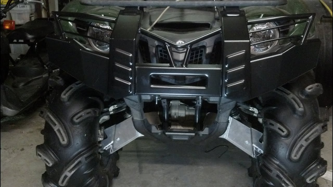 Diy yamaha grizzly 700 cv boot guard installation boot gaurd youtube sciox Image collections