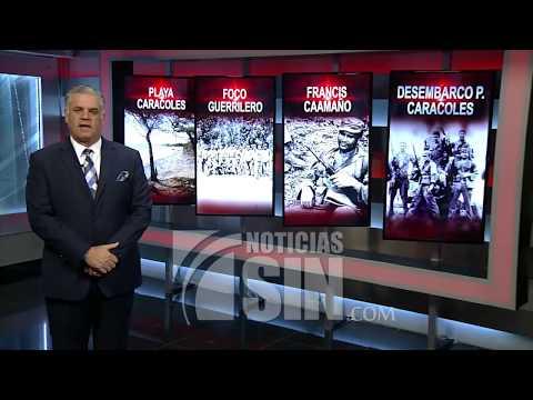 Historia Dominicana: 45 años del desembarco de Playa Caracoles