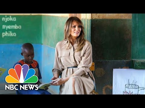 First Lady Visits Malawi School On African Child Welfare Tour | NBC News