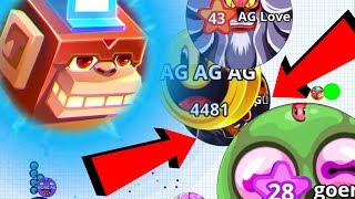 Agario Best Tricky Team Epic AG Clan Dominating Agar.io Mobile Gameplay