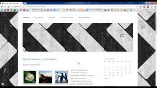 Установка и настройка темы WordPress