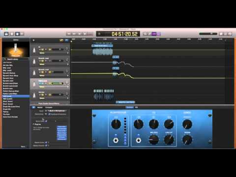 How to save presets in garageband 10