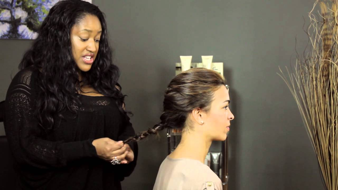 How To Keep Hair Braided Without Rubber Bands : Hair Styling Advice