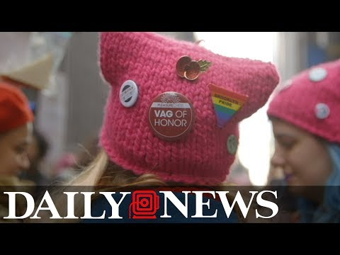 New York Women's March organizers talk protest in the age of Trump