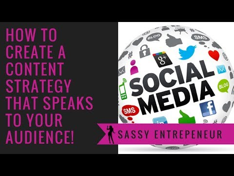 How to create a Content Strategy that speaks to your audience!