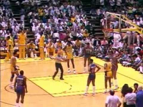 1988 NBA Finals: Pistons at Lakers, Gm 7 part 7/12