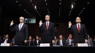 Tech companies' Senate Intelligence testimony, in 3 minutes