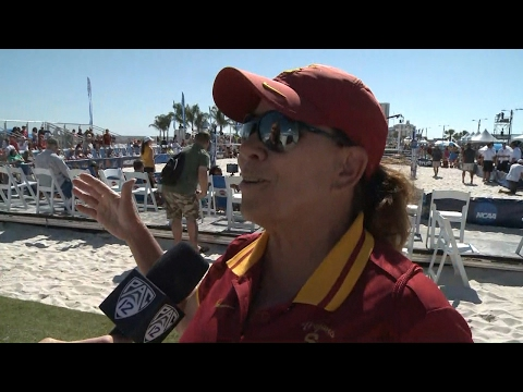 USC beach volleyball players prepare for final round at NCAA Championships