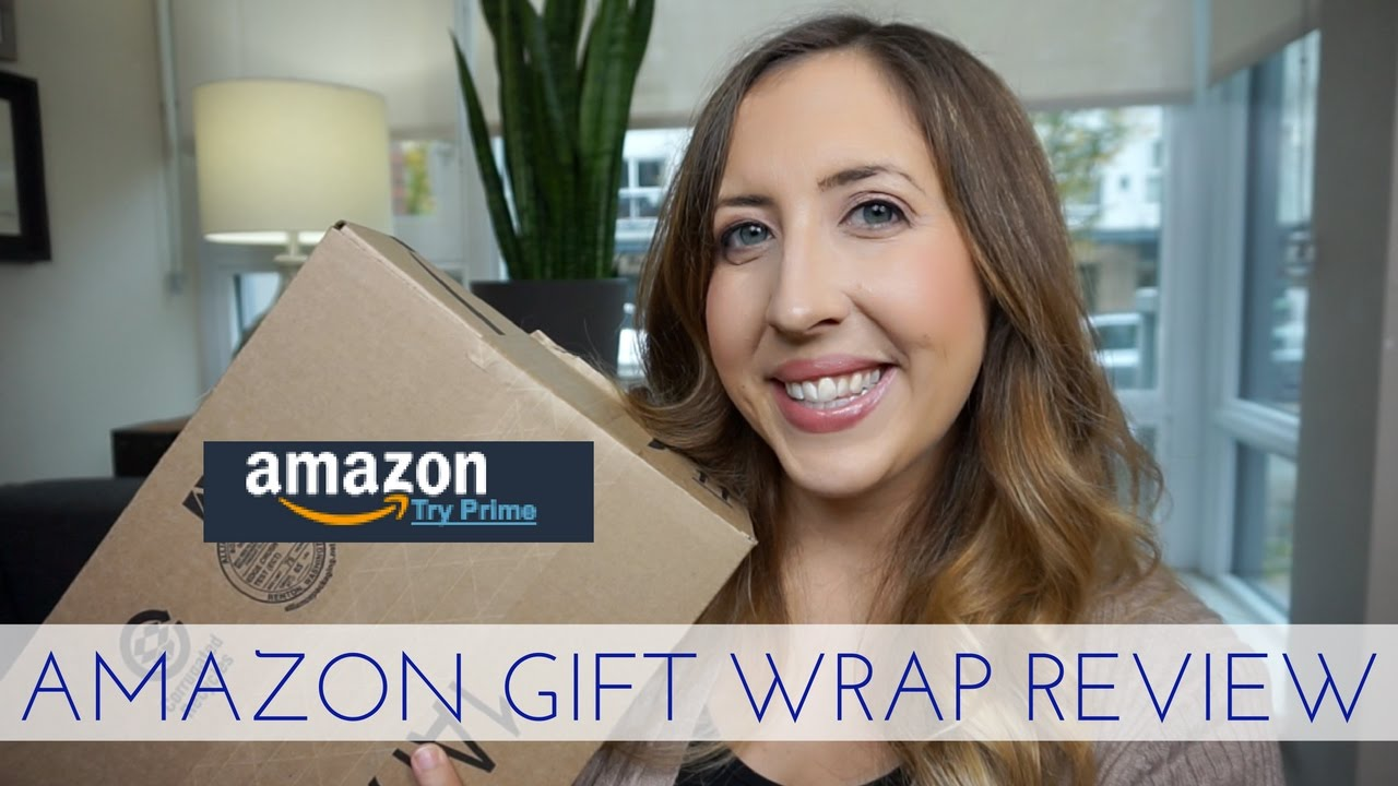 AMAZON GIFT WRAP REVIEW