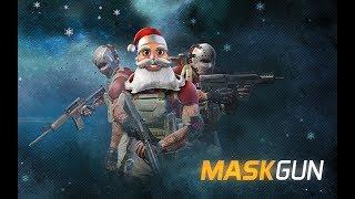 MaskGun Multiplayer FPS Gameplay Обзор Первый взгляд Летсплей (Android,APK,iOS)