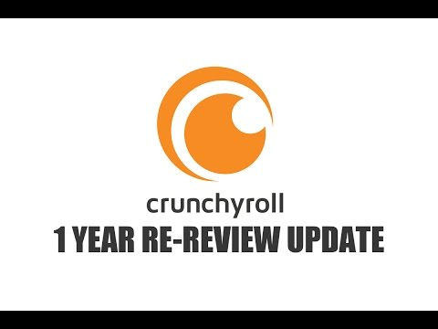 Panda's Review - Crunchyroll 1 Year Re-Review!
