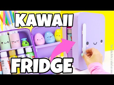 Creative miniature kawaii fridge, desk organizer.