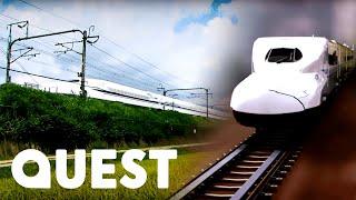 How The Tokaido Shinkansen Bullet Train Works   Rise Of The Machines