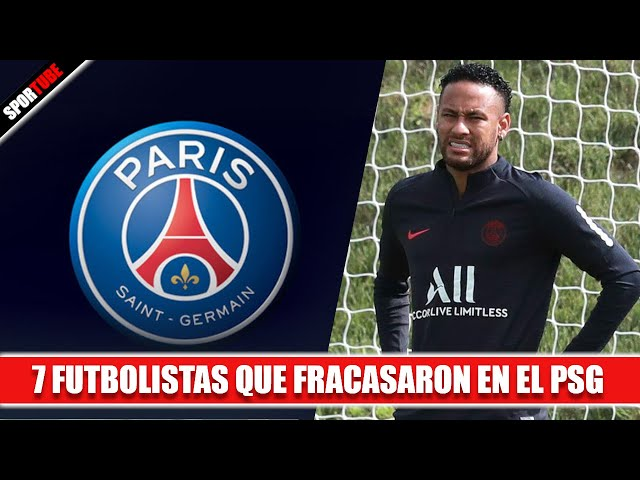 7 Futbolistas que FRACASARON en el PSG