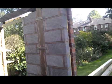 Wind Break Built Into Wall Wall Plate Height Youtube