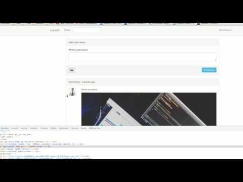 Laravel Social Media | Search Functionality & Video Upload