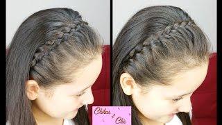 diadema con trenzas 2 opciones braided headbands   peinados faciles y rapidos   trenza diadema