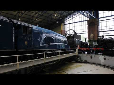 Dominion of Canada enters the National Railway Museum