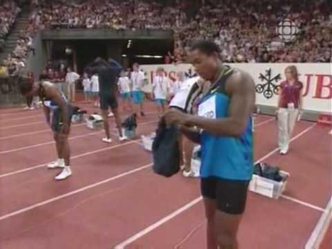 Golden Games Zurich Usain Bolt 100m