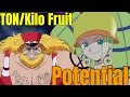 The Ton/Kilo Fruit's Potential - One Piece Discussion