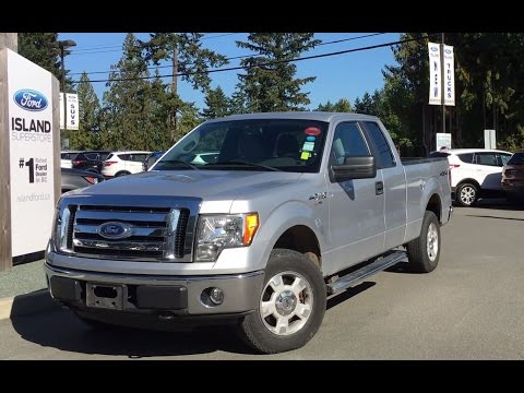 2010 Ford F-150 XLT SuperCab 4X4 +Back Up Camera| Island Ford
