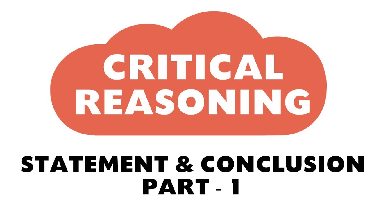 Statement conclusion reasoning youtube.