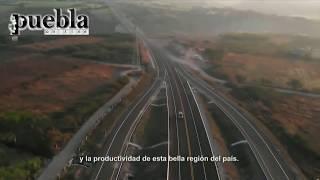 Peña Nieto y Tony Gali inauguran la Autopista Siglo XXI