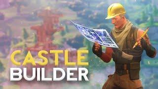 The BIGGEST CASTLE in Fortnite - Fortnite Battle Royale