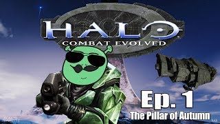 Halo Combat Evolved | Ep 1 The Pillar Of Autimn | #Tagalog #Facecam #LetsPlay