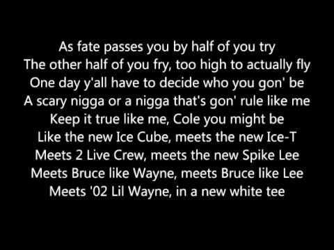 Fire Squad jcole with Lyrics