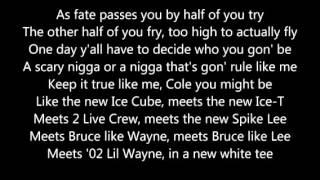 Fire Squad jcole with Lyrics