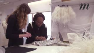 Chanel haute couture :  les secrets de fabrication de la robe miroir porte par Kendall Jenner