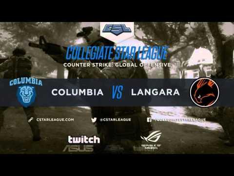 (CSGO)Week 9: Langara(1-7) vs Columbia(6-1)