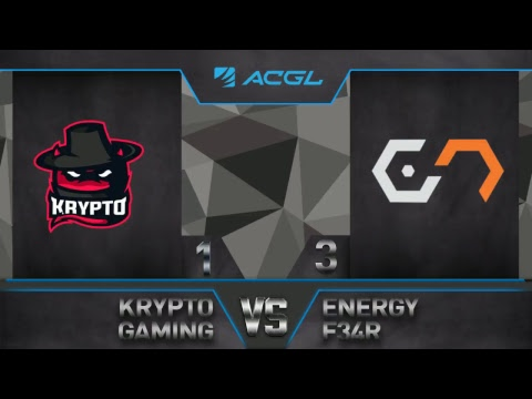 EGE 2017: Krypto Gaming vs Energy F34R (GRAND FINAL)